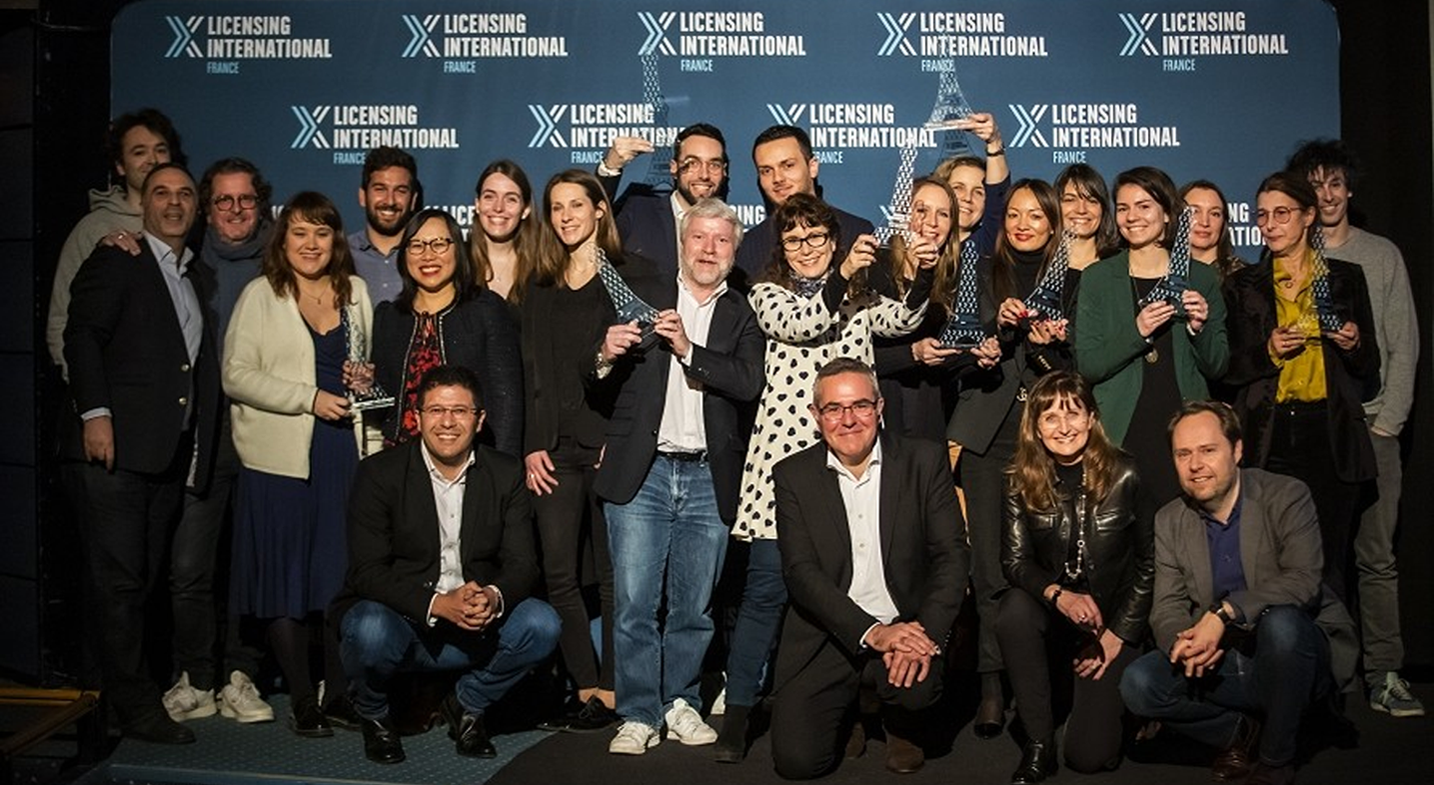 Francais Licensing Celebrate success – Licensing Awards show in Paris